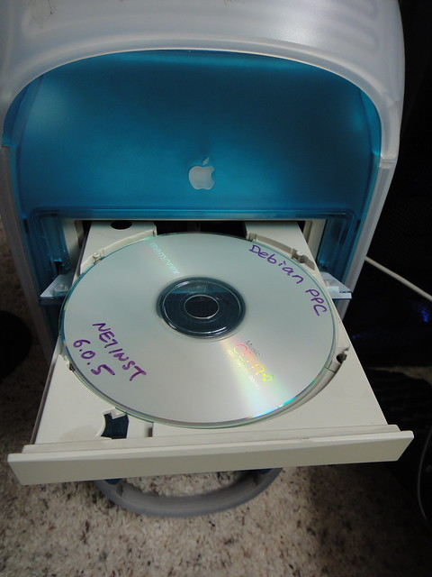 Installing Linux on Power Mac G3