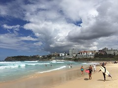 Bondi Beach -- Sydney, Australia. That's true blue, by the way.   Check out our thoughts on visiting Australia in a limited amount of time in Australia in Two Weeks: An Experiential Guide -- up on the blog (link in profile).