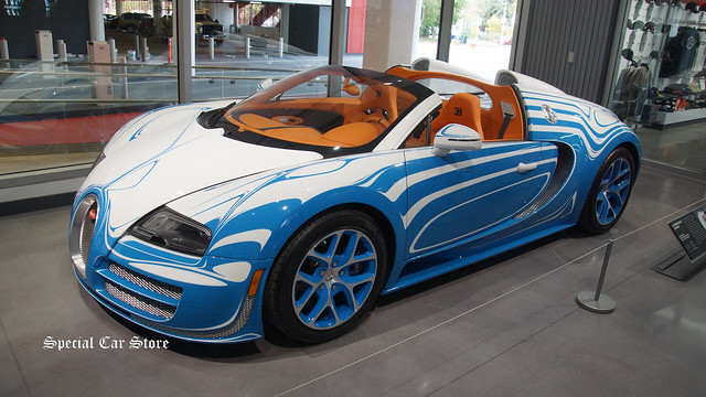 2014 Bugatti Veryron Grand Sport Vitesse