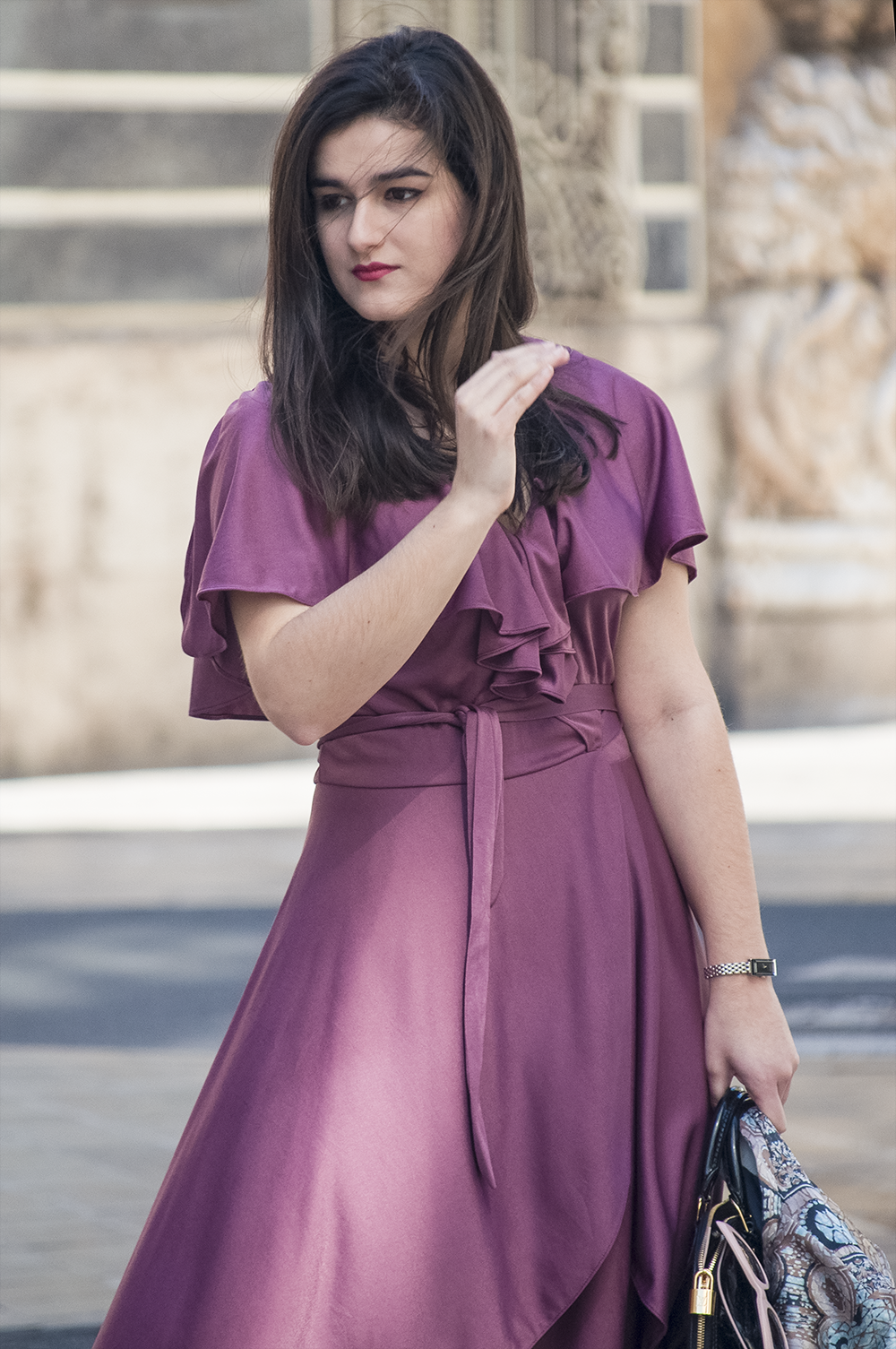 valencia fashion blogger spain somethingfashion vlc moda vintage vestido morado bimba y lola sunnies colorful estilo streetstyle amanda ramon_0090
