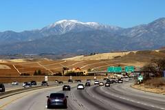 California Freeway 57 North Bound