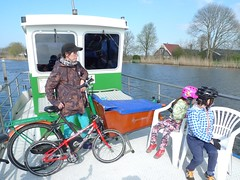 Family Cycling - Tulip Trip 2016-4-10