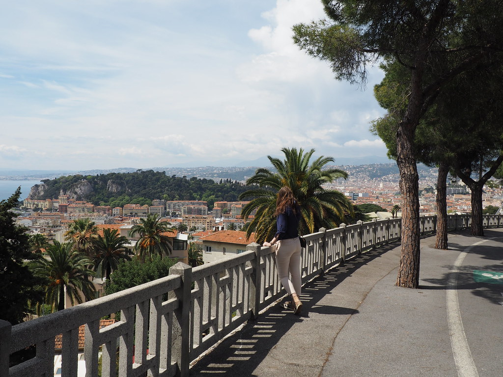 Beautiful panorama of Nice