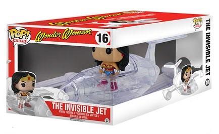 FUNKO RIDES 系列【神力女超人 & 隱形戰機】Wonder Woman's Invisible Jet