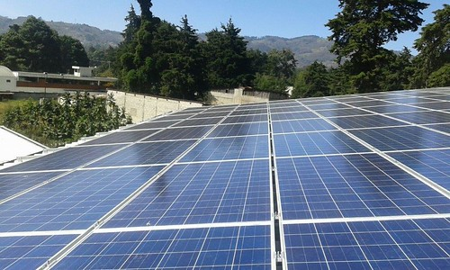 Solar Panels at the new education center