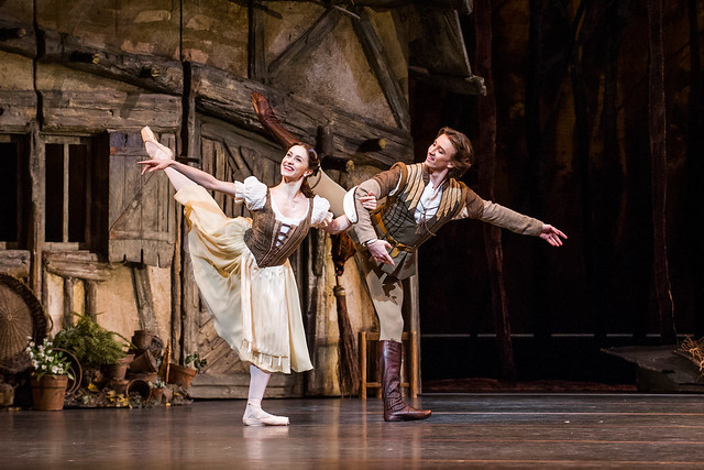 Marianela Nuñez and Vadim Muntagirov in Giselle © ROH 2016. Photographer Tristam Kenton