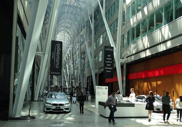 2016 Motorexpo Toronto Allen Lambert Galleria
