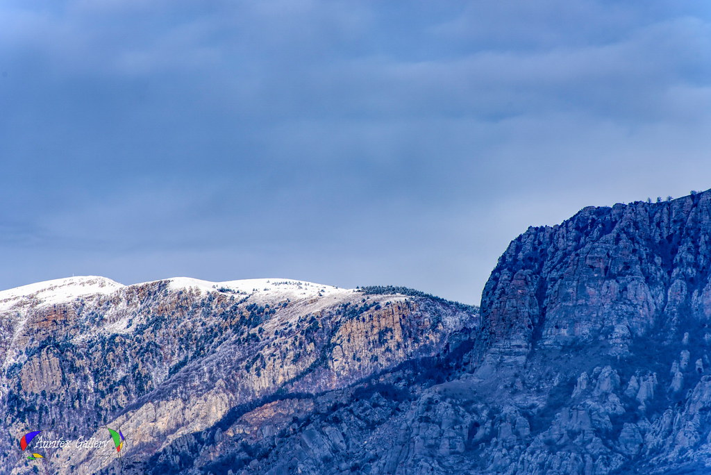 Snowy peaks 1 in February