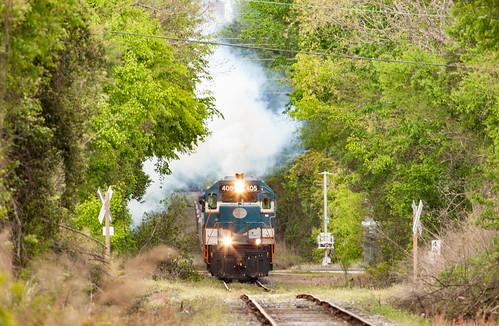 train locomotive csx aberdeenrockfish ar405 fayettevillesc