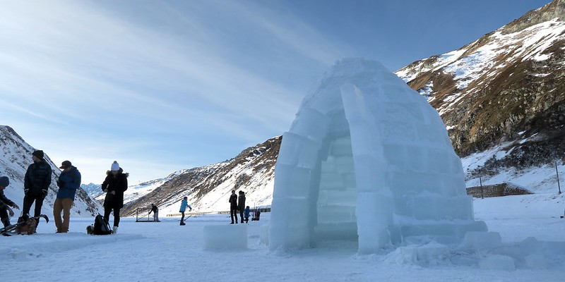 Oberalp Pass - Igloo