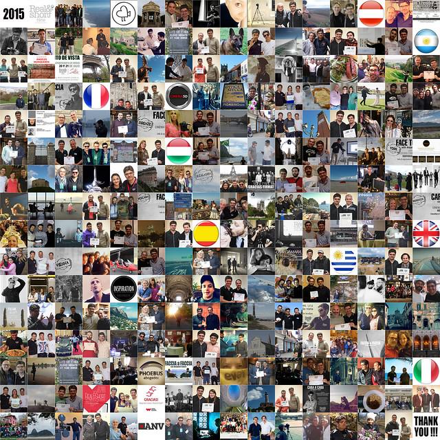REAL&SHORT ® 2015: Gracias.../ Thank you... / Grazie...