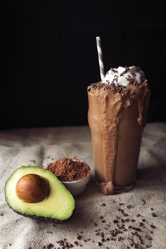 Chocolate Avocado Shake {Vegan & Paleo}