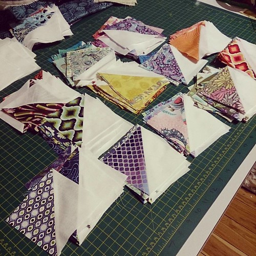 For a change, actual sewing things...  #aussiecharmswap #aussiecharmalong