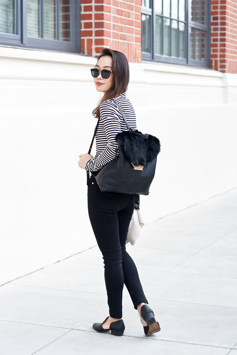 05-fur-backpack-black-white-stripes-denim-sf-style-fashion