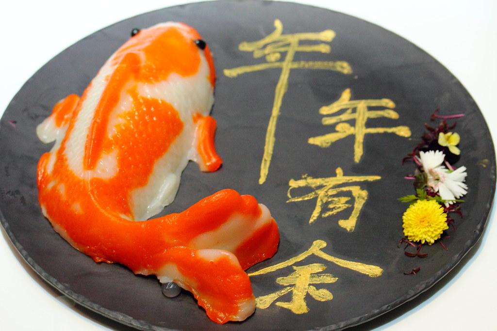 how to eat fish nian gao