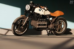 Cafe-Racer BMW'88 от Z17 Customs
