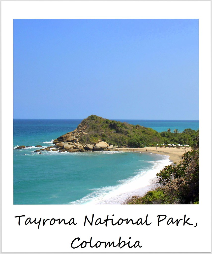 polaroid of the week colombia tayrona