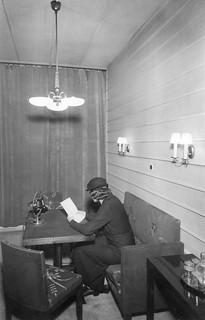 Radio House in Fabianinkatu, lecture studio in 1934.