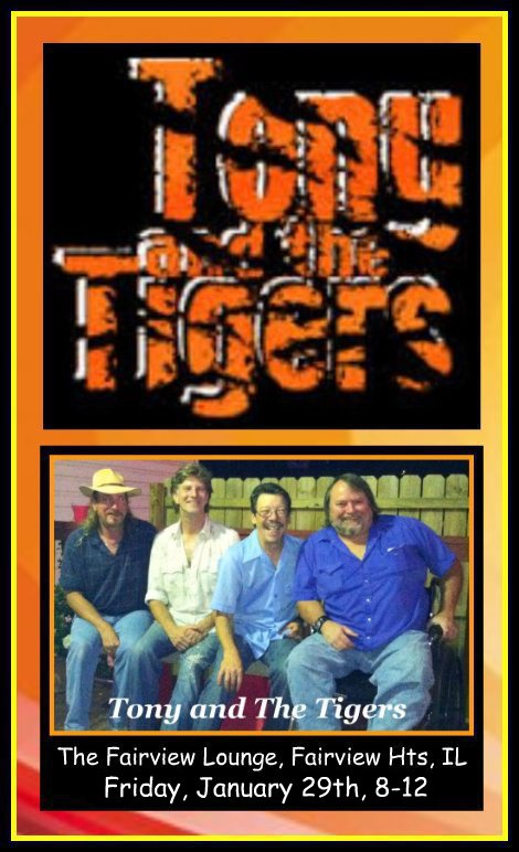 Tony and The Tigers 1-29-16