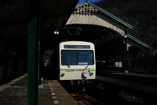 2016/01 叡山電車×NEW GAME! ラッピング車両 #45