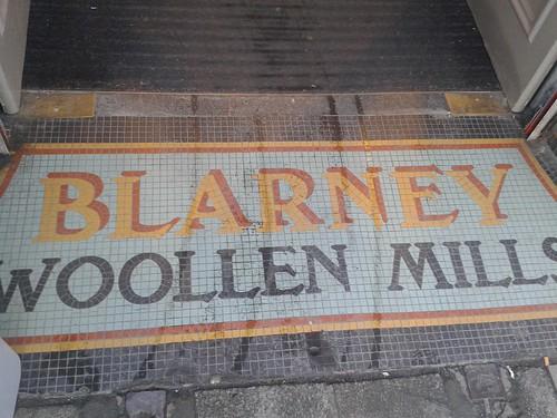 Blarney Woollen Mills Entranceway Mosaic, Dublin