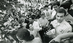 Police try to calm crowd in Mt. Pleasant: 1991