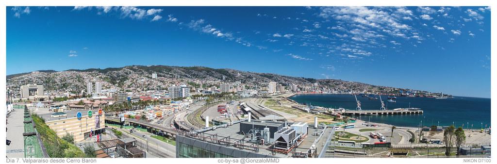 Día 7. Valparaíso desde Cerro Barón