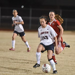 LEHS Womens Var Soccer vs Nations Ford 2-17-16