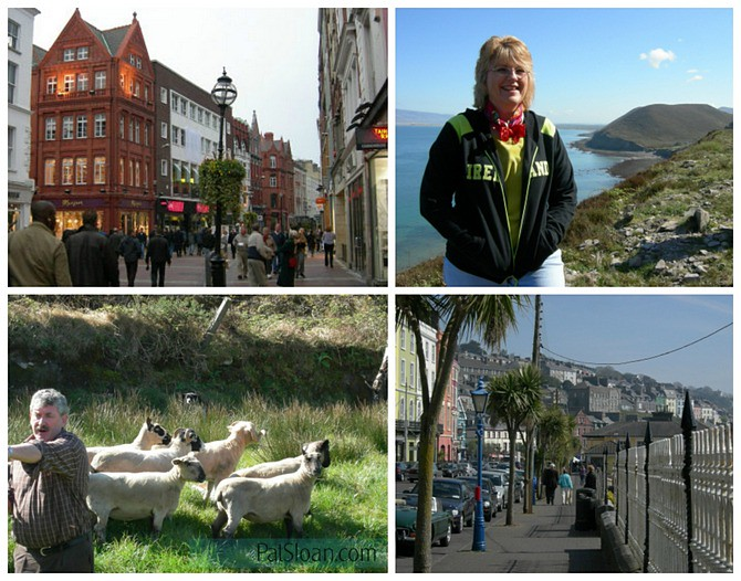 pat sloan blog ireland collage