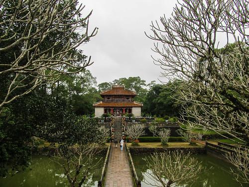 Le Tombeau de Minh Mang: le Pavillon de la Lumière