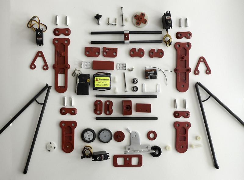 M3 cradle components