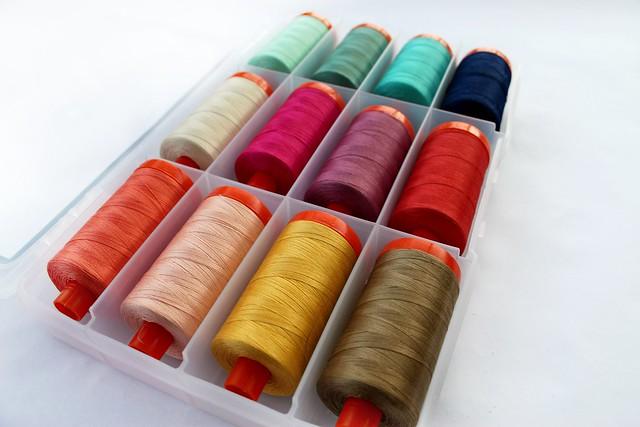 My Aurifil Thread Collection