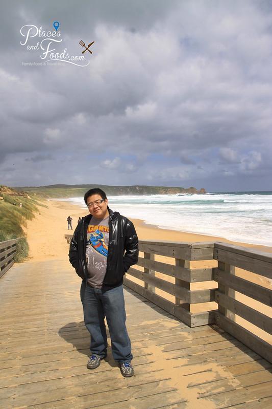 phillip island woolamai beach selfie