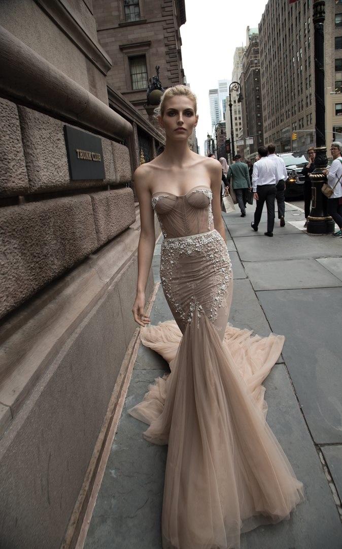Inbal Dror 2016 Wedding Dresses - Mermaid sleeves wedding dress | itakeyou.co.uk