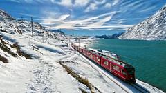Bernina Express - Lago Bianco - Grigioni - Svizzera
