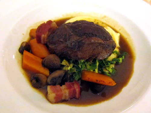 Slow Cooked Beef Cheek (Bourguignon)