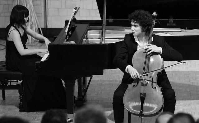 """CONCIERTO DE FERMÍN VILLANUEVA, CELLO & MIZUKI WAKI, PIANO - AUDITORIO """"ÁNGEL BARJA"""" DEL CONSERVATORIO DE LEÓN - 23 FEBRERO'16"""