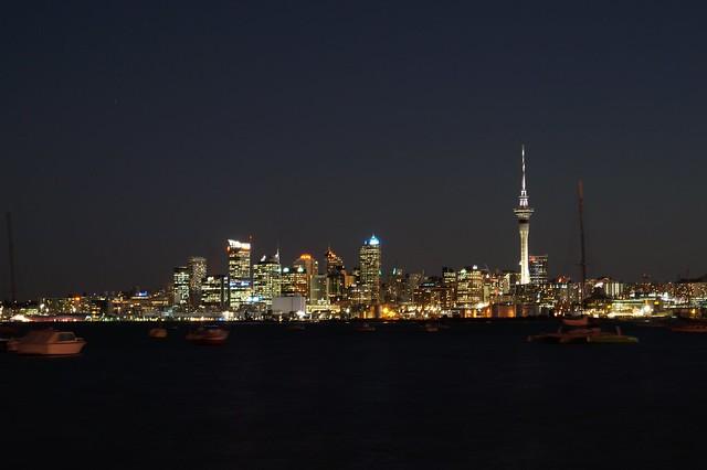 Auckland at Dusk