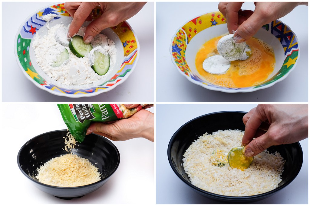 Step by Step to making Perfect Italiano Cheese Snack