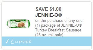 Jennie-O Turkey Sausage at Meijer