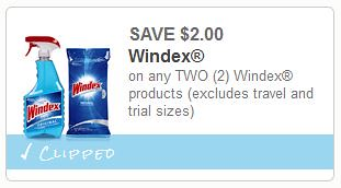 Windex Products Coupon