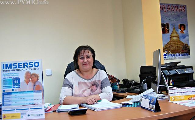 Isabel Garzón, presdienta de la Asociación Salmantina de Empresarios de Agencias de Viajes (ASAV).