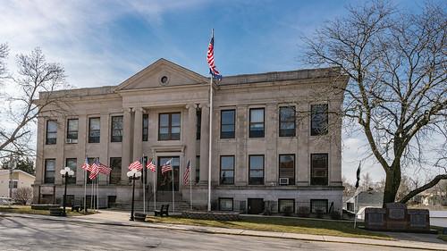 architecture us unitedstates missouri princeton courthouse