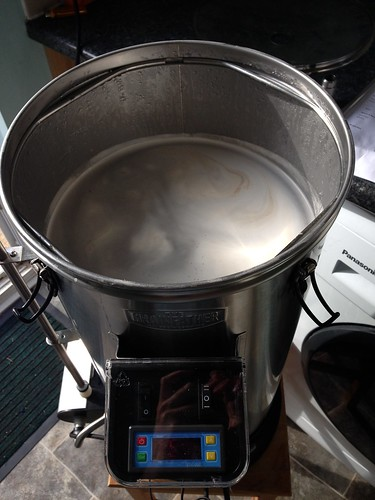 how to boil grainfather connect