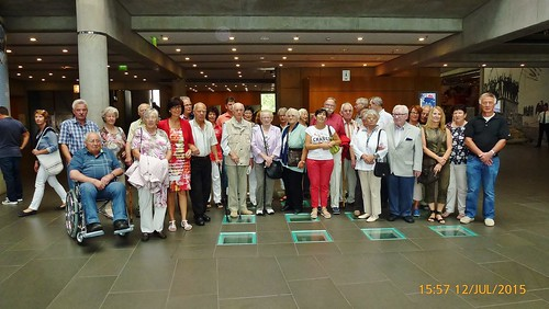 12.7.2015 Senioren im Haus der Geschichte, Bonn