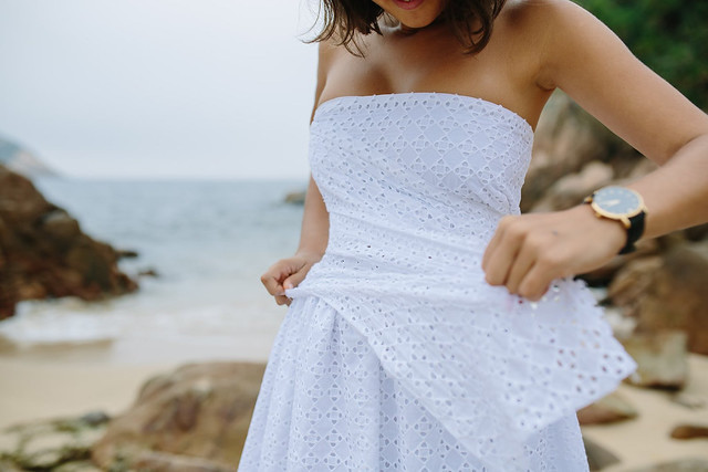 DIY Lace Vestido Envelope corpete