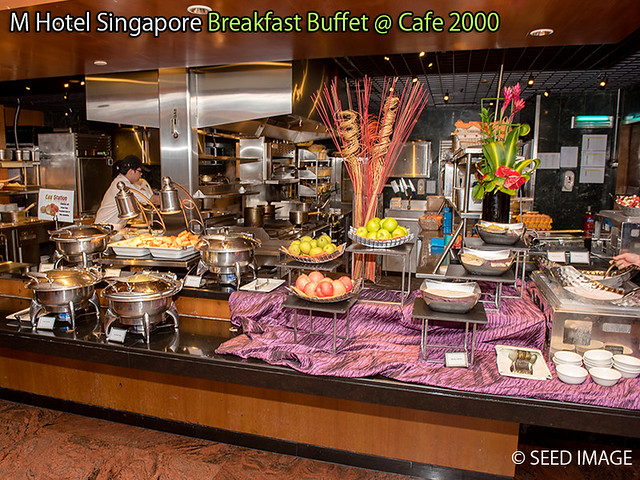 M Hotel Singapore Breakfast Buffet Cafe 2000