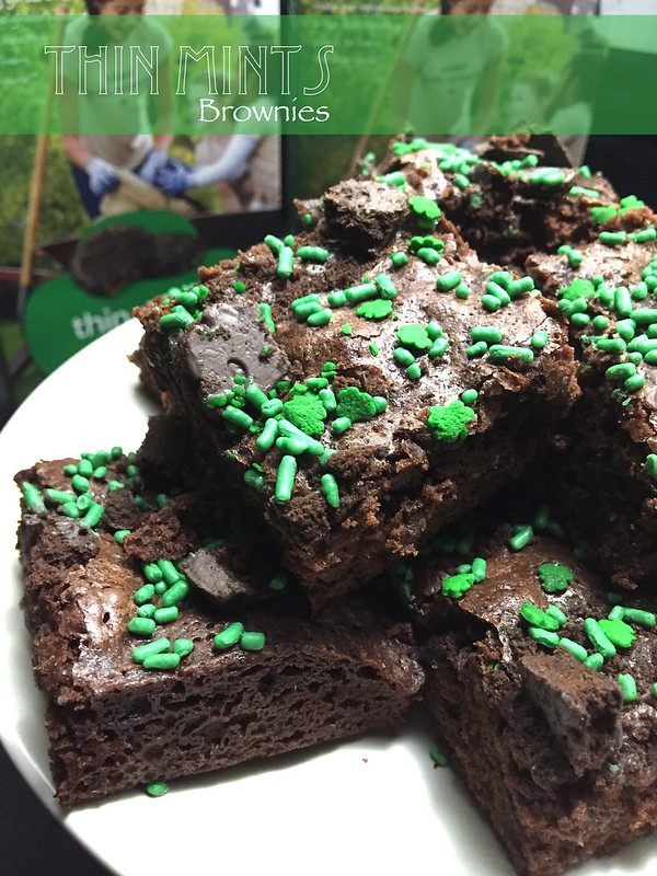 Thin Mints Brownies