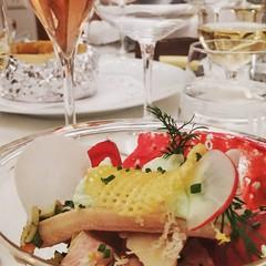 Forelle und Randen am #gustofestival von #swissculinaire