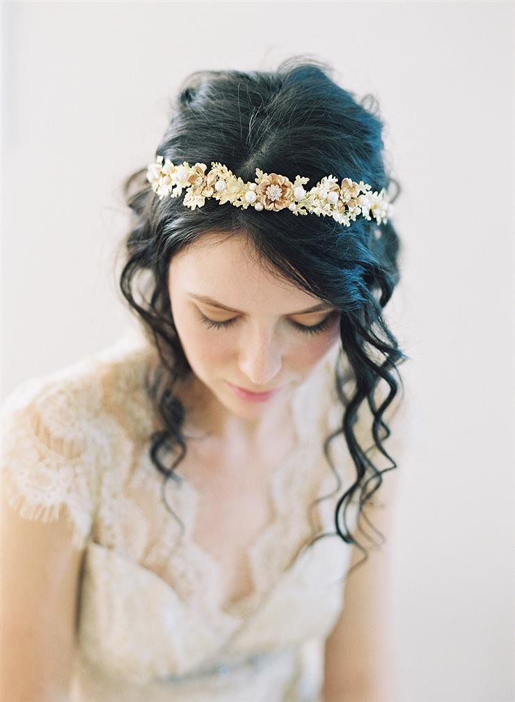 Gorgeous bridal accessories from Erica Elizabeth Designs